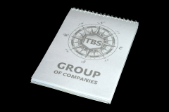 Блокнот для компании «TBS Group»
